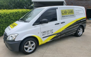 Mobile detailing van included in sale of detailing business